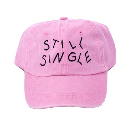"Limited Edition Valentines Day ""Still Single"" Hat"