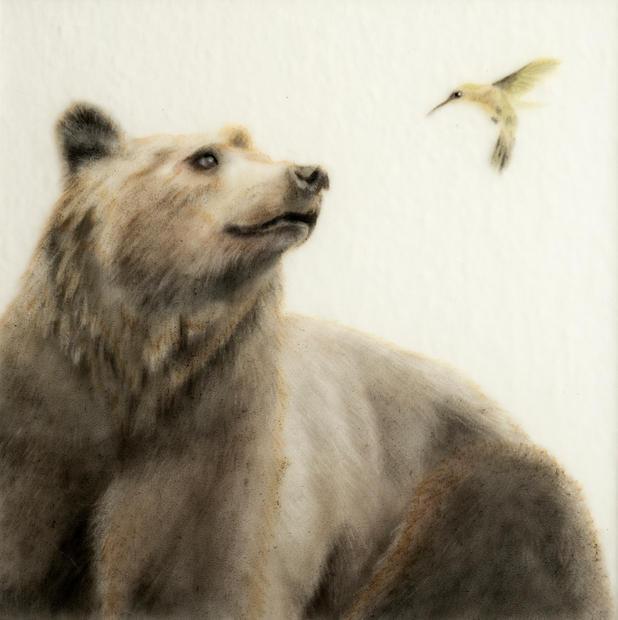 Bear and Hummingbird