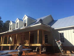 Residential Metal Roof Install