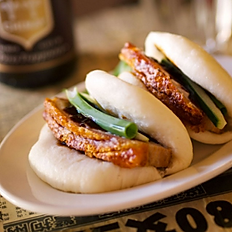 Crackling Pork Belly Sliders