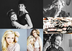 Mother and daughter portrait photography session at Vilija Skubute photography