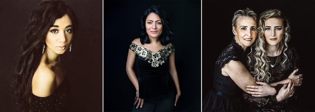 women portrait at vilija skubute photography