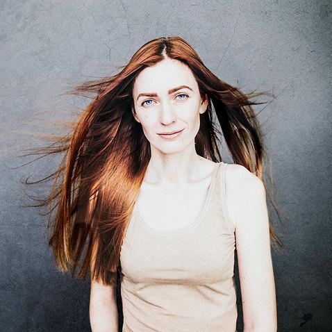 Model headshot photography