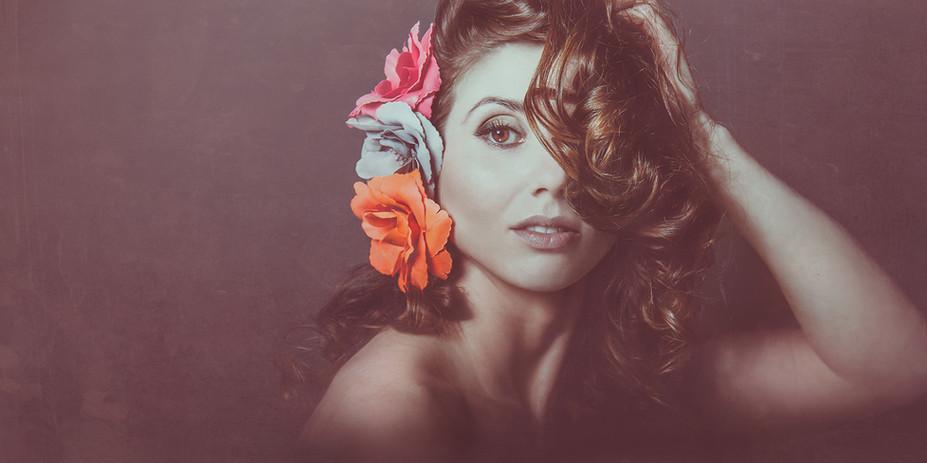 Portrait photography with Vilija Skubute