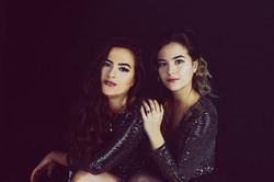 Sister portrait photography taken at Vilija Skubute Studio