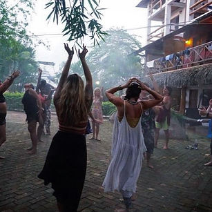 Post cacao bliss-dancing in the mist ✨❤️