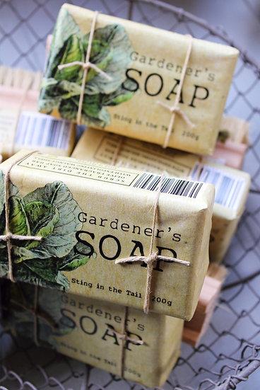 Exfoliating Olive & Walnut Shell Soap & Brush