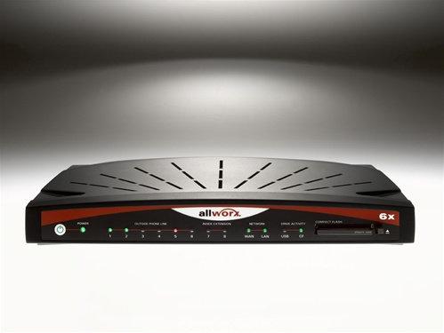 Allworx VoIP PBX System w/ 4 Telephones 4