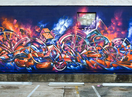 Graffiti - en introduktion til gadekunsten