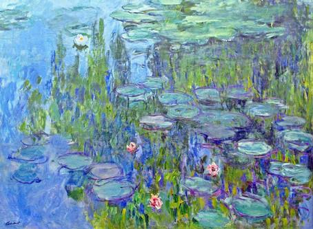 Monet og åkanderne