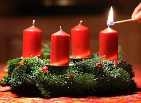 Der Blauring bindet auch dieses Jahr Adventskränze
