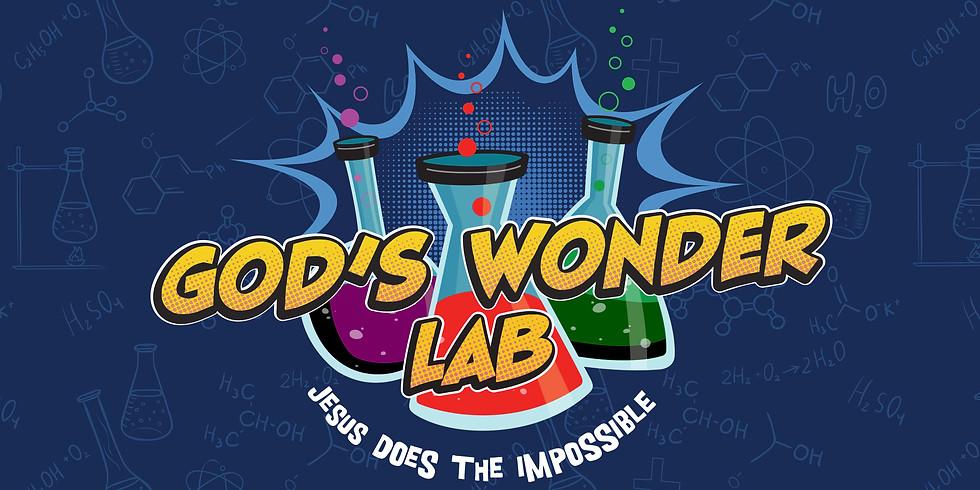 God's Wonder Lab VBS