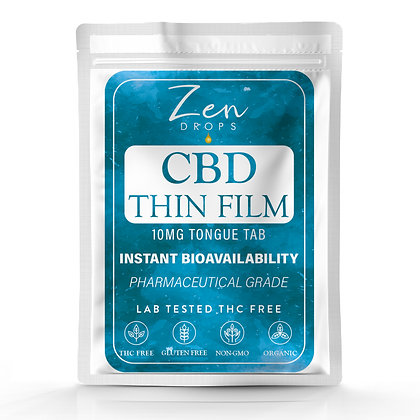 CBD Thin Film Tongue Tabs