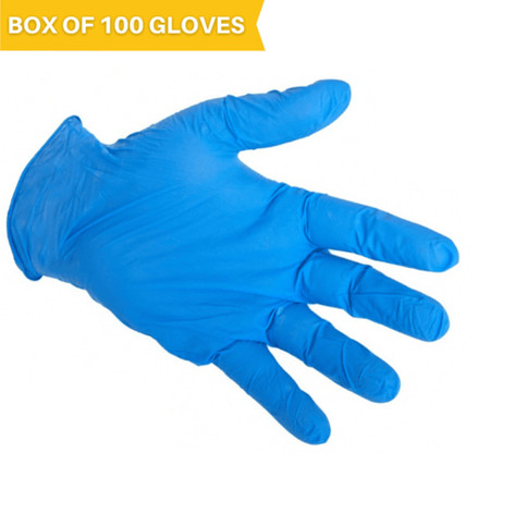 X3 Industrial Nitrile Gloves (Box of 100 Gloves)