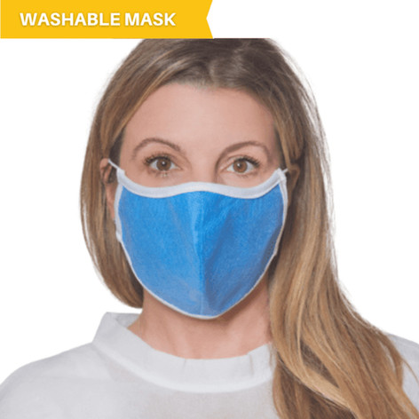 Washable & Reusable Diamond Mask (Polypropylene)