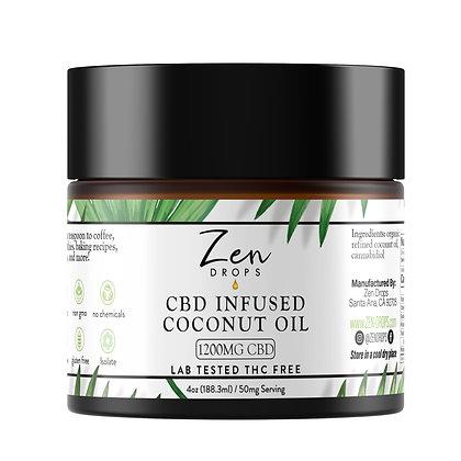 CBD Infused Coconut Oil