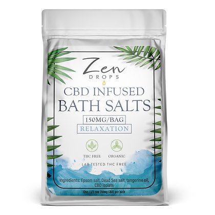 CBD Infused Bath Salts