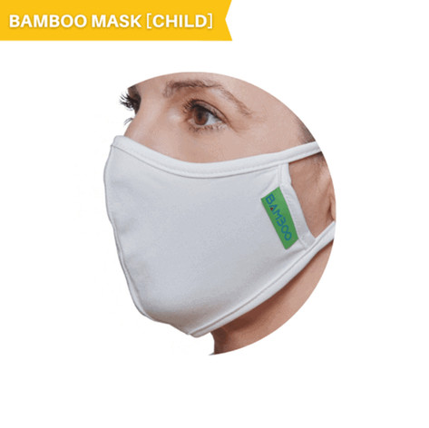 Bamboo, Anti-Microbial, Washable (Child's Mask)