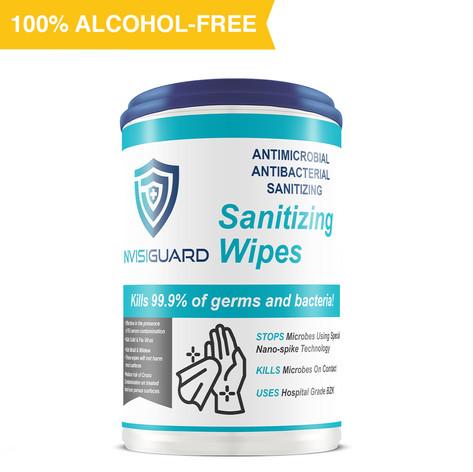 Invisiguard Sanitizing Wipes (Canister)