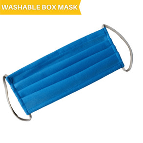 "Washable Polypropylene ""Box"" Mask"