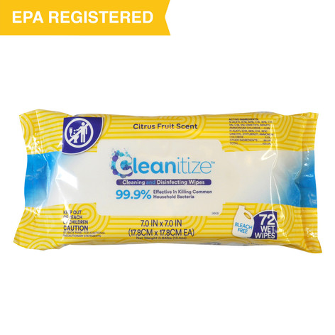 Cleanitize Cleaning and Disinfecting Wipes