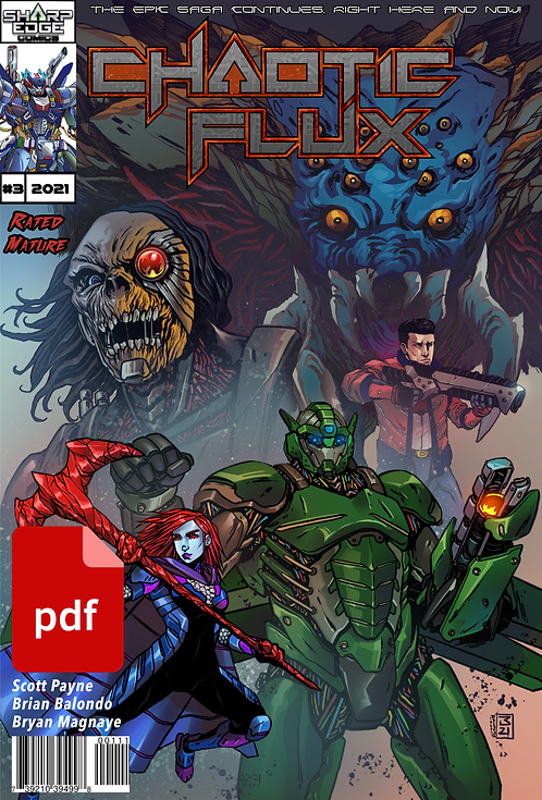 Chaotic Flux issue #3: Relentless