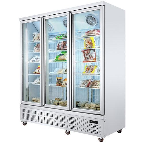 Heater glass supermarket freezer