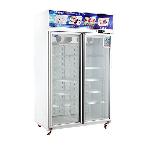 2 door freezer (-18℃ to 22℃)
