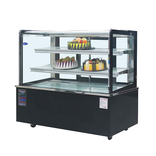 Bread pastry display refrigerator
