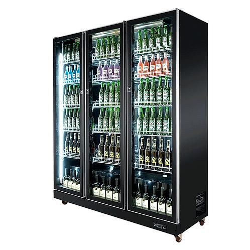 Upright glass door fridge cooler( 0℃ to 10℃ )