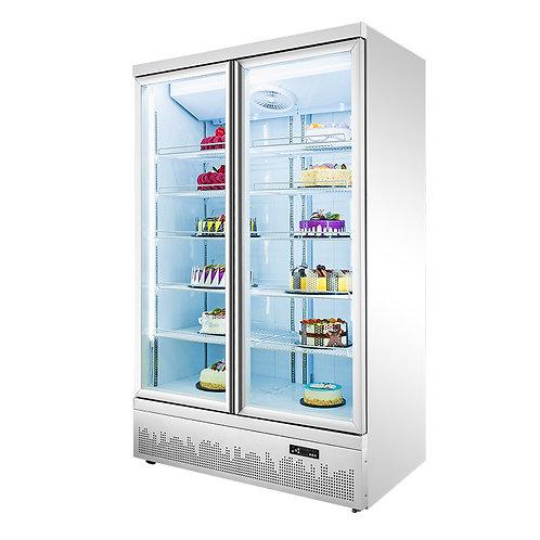 Upright Glass Door Supermarket Display Freezer (-18℃ to -22℃)