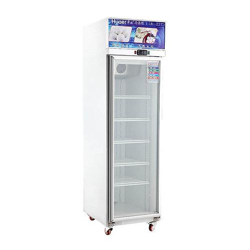 Single glass door upright freezer (-18℃ to 22℃)