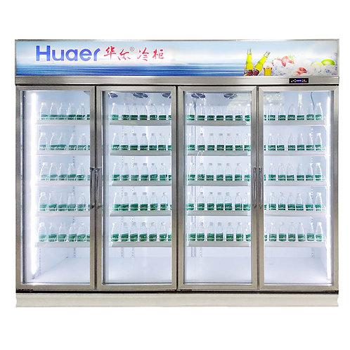 Four doors beverage cooler ( 0℃ to 10℃ )