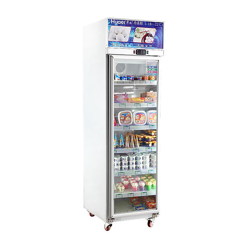 Top mount 1 door upright freezer