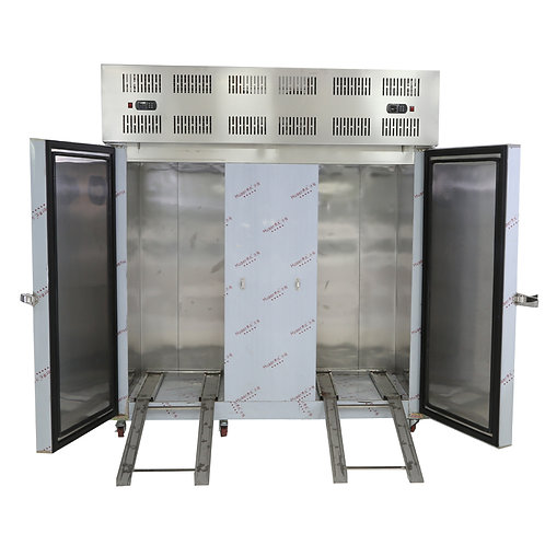 Quick chilling and freezing freezer machine