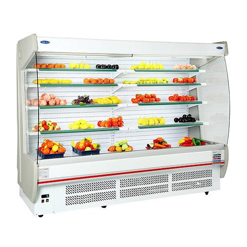 Open display cooler