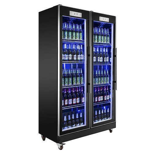 Glass door drink refrigerator ( 0℃ to 10℃ )