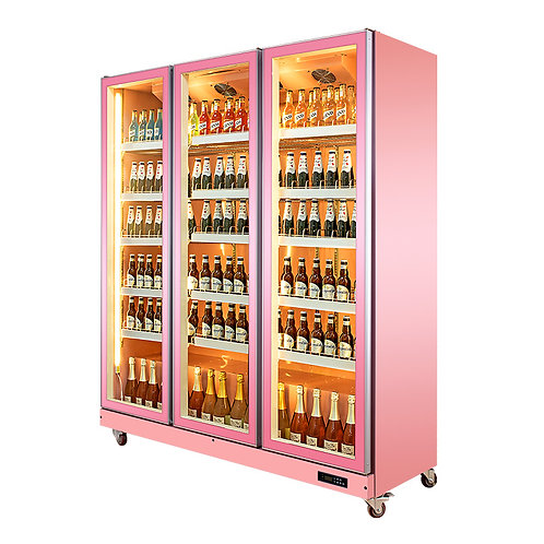 Glass Door Beer Refrigeration( 0℃ to 10℃ )