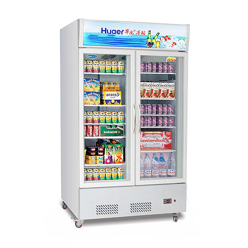 Plug-in chillers vertical freezer display ( 0℃ to 10℃ )
