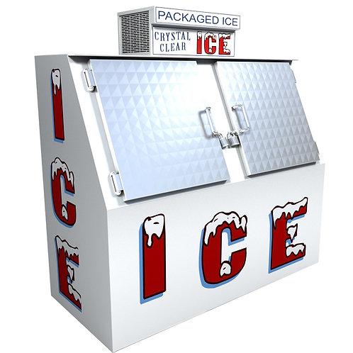 Ice merchandiser freezer