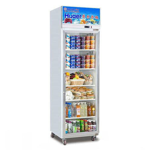 Sinle glass door fridge (0℃ to 10℃)