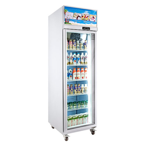 Top mount 1 door fridge