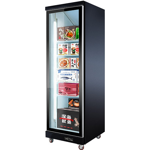 Compressor hiden freezer showcase
