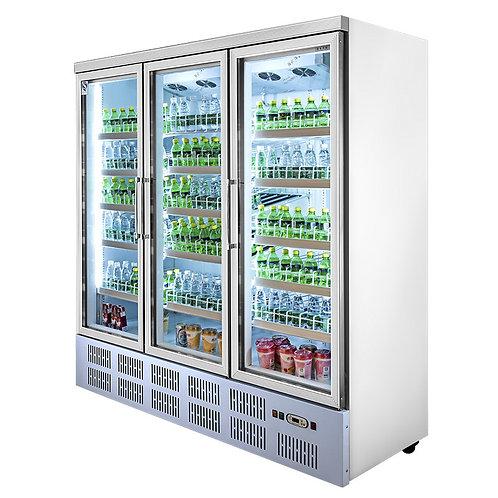 3 doors drinks display cooler( 0℃ to 10℃ )