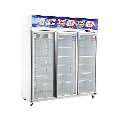 3 door commercial freezer (-18℃ to 22℃)