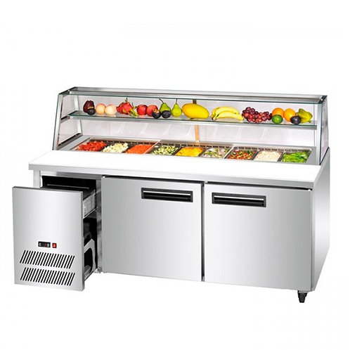 Saladette Fruit Prep Refrigerator With Drawers