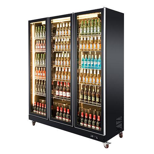 3 Glass Door Beverage Chillers