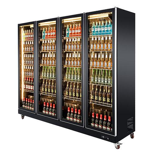 4 doors cold drinks fridge