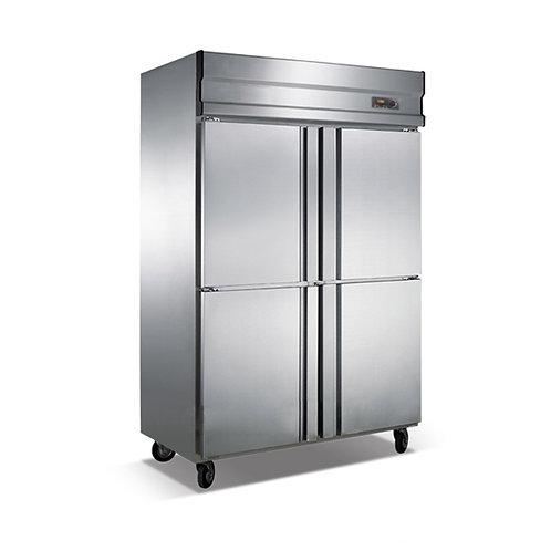 Four door refrigerator kitchen