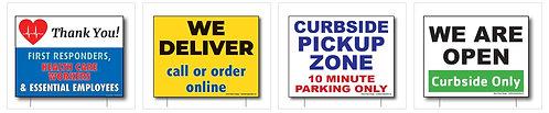 Lawn Signage - generic or custom